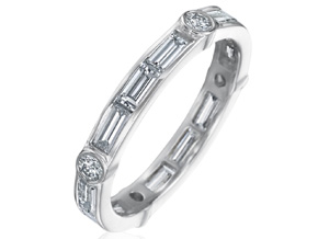 Wedding Rings from the Deco - By Gumuchian - Style #: R845GP2