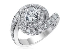 Engagement Rings - By Gumuchian - Style #: R879P