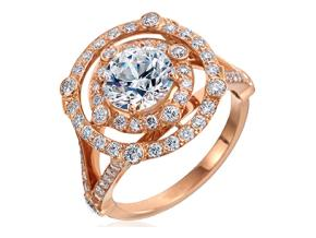 Engagement Rings from the Carousel - By Gumuchian - Style #: R897PK