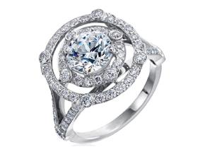 Engagement Rings from the Carousel - By Gumuchian - Style #: R897P