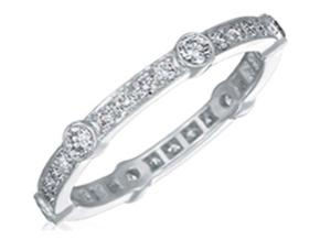 Wedding Rings from the Carousel - By Gumuchian - Style #: R898P