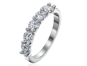 Wedding Rings from the Twinset - By Gumuchian - Style #: RT02P20