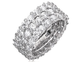 Wedding Rings from the Twinset - By Gumuchian - Style #: RT06HP