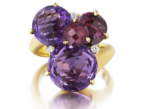 Rings from the Cluster - By Carelle - Style #: AP706Y8AMRLD