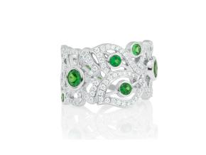 Rings from the Florette - By Carelle - Style #: BD812W8ED