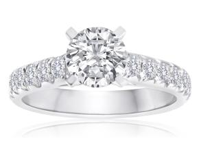 Engagement Rings - By Imagine Bridal - Style #: 61176D-3-4