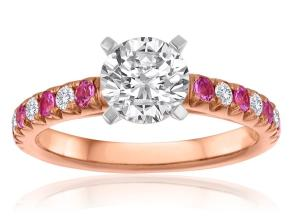 Engagement Rings - By Imagine Bridal - Style #: 61176PS-1-2