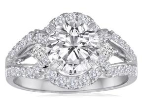 Engagement Rings - By Imagine Bridal - Style #: 62006D-3-4