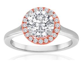 Engagement Rings - By Imagine Bridal - Style #: 62266DP-RW-1-6