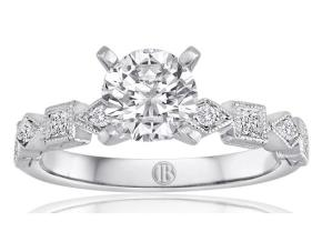 Engagement Rings - By Imagine Bridal - Style #: 62906D-1-3