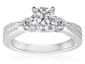 Engagement Rings - By Imagine Bridal - Style #: 62996D-2-5