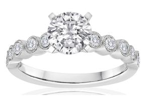 Engagement Rings - By Imagine Bridal - Style #: 63116D-1-4
