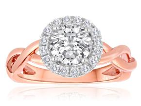 Engagement Rings - By Imagine Bridal - Style #: 63166D-1-5