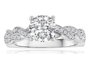 Engagement Rings - By Imagine Bridal - Style #: 63556D-1-3