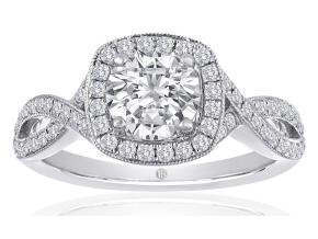 Engagement Rings - By Imagine Bridal - Style #: 63586D-1-4