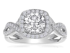 Engagement Rings - By Imagine Bridal - Style #: 63806D-1-2