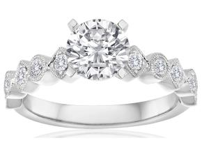 Engagement Rings - By Imagine Bridal - Style #: 64116D-1-4