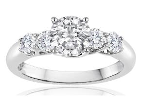 Engagement Rings - By Imagine Bridal - Style #: 68056D-3-4