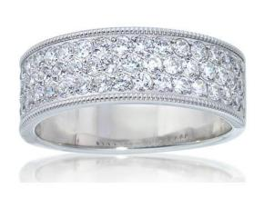 Wedding Rings - By Imagine Bridal - Style #: 72526D-1