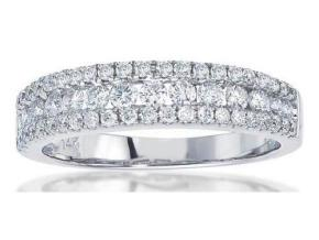 Wedding Rings - By Imagine Bridal - Style #: 72586D-3-4