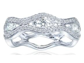 Wedding Rings - By Imagine Bridal - Style #: 72736D-2-3