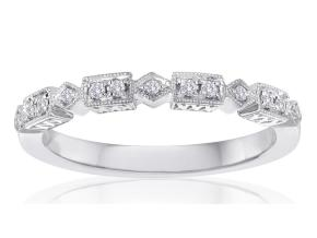 Wedding Rings - By Imagine Bridal - Style #: 73136D-1-10