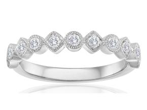 Wedding Rings - By Imagine Bridal - Style #: 74116D-1-4