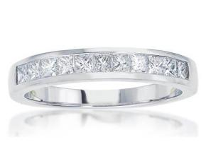 Wedding Rings - By Imagine Bridal - Style #: 75116D-3-4