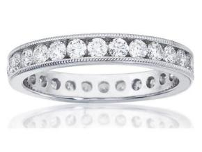 Wedding Rings - By Imagine Bridal - Style #: 86196D-1