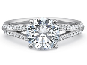 Engagement Rings from the New Aire - By Precision Set - Style #: 2028
