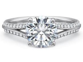 Engagement Rings from the New Aire - By Precision Set - Style #: 2030