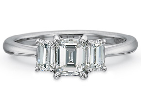 Engagement Rings from the New Aire - By Precision Set - Style #: 2070
