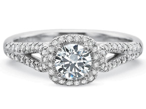 Engagement Rings from the New Aire - By Precision Set - Style #: 2094
