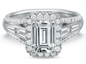 Engagement Rings from the Extraordinary - By Precision Set - Style #: 2654
