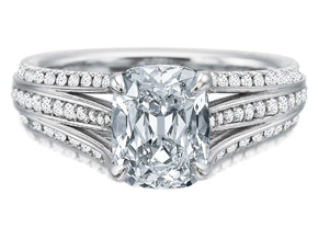 Engagement Rings from the Extraordinary - By Precision Set - Style #: 2668
