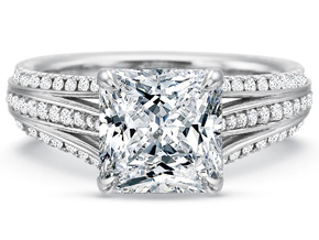 Engagement Rings from the Extraordinary - By Precision Set - Style #: 2669