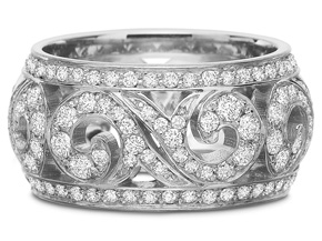 Rings from the Fine Jewelry - By Precision Set - Style #: 2708