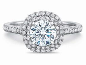 Engagement Rings from the New Aire - By Precision Set - Style #: 2746
