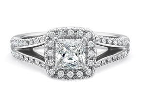 Engagement Rings from the New Aire - By Precision Set - Style #: 285518W