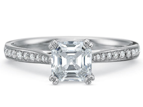 Engagement Rings from the New Aire - By Precision Set - Style #: 2895