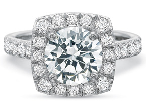 Engagement Rings from the New Aire - By Precision Set - Style #: 2985