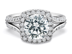 Engagement Rings from the New Aire - By Precision Set - Style #: 2993
