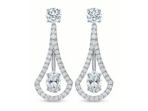 Earrings from the Fine Jewelry - By Precision Set - Style #: 6743
