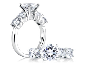 Engagement Rings - By A.JAFFE - Style #: ME1083-160