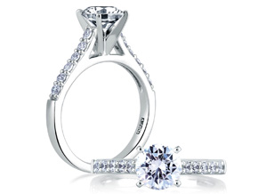 Engagement Rings from the A.JAFFE Classics™ - By A.JAFFE - Style #: ME1353-30