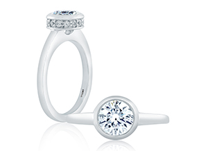 Engagement Rings - By A.JAFFE - Style #: ME1400-21