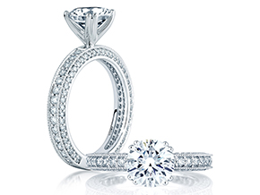 Engagement Rings - By A.JAFFE - Style #: ME1465-84