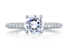 Engagement Rings - By A.JAFFE - Style #: ME1534-148