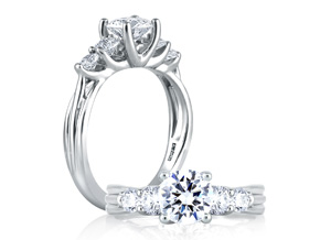 Engagement Rings - By A.JAFFE - Style #: ME1551-308