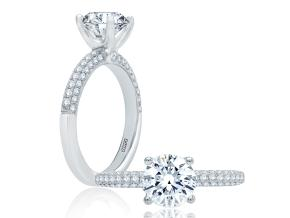 Engagement Rings - By A.JAFFE - Style #: ME1555-151